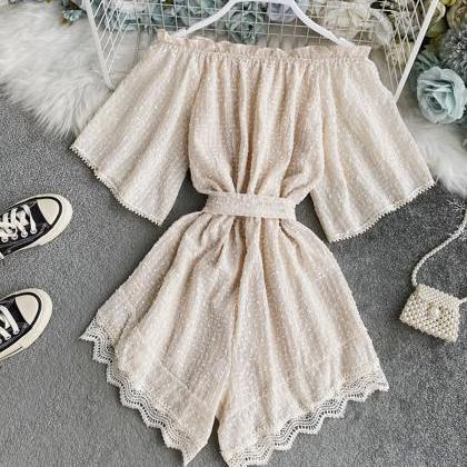 Cute jumpsuit rompers