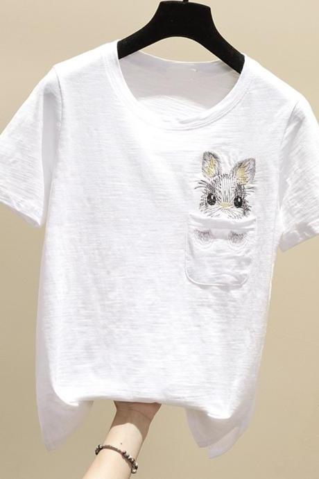 T-shirt cute bunny t-shirt