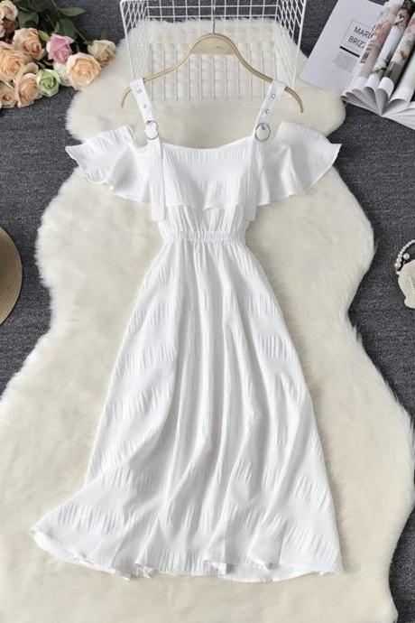 Cute A line short dress summer dress