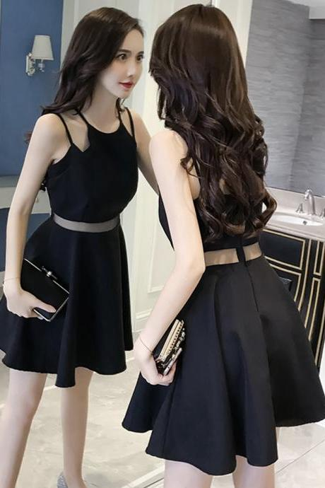 Cute A line short dress fashion dress