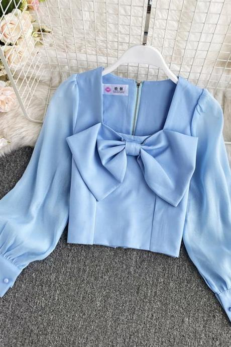 Cute bow top
