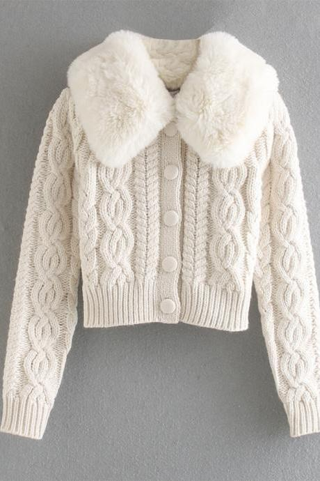 Stylish long sleeve sweater