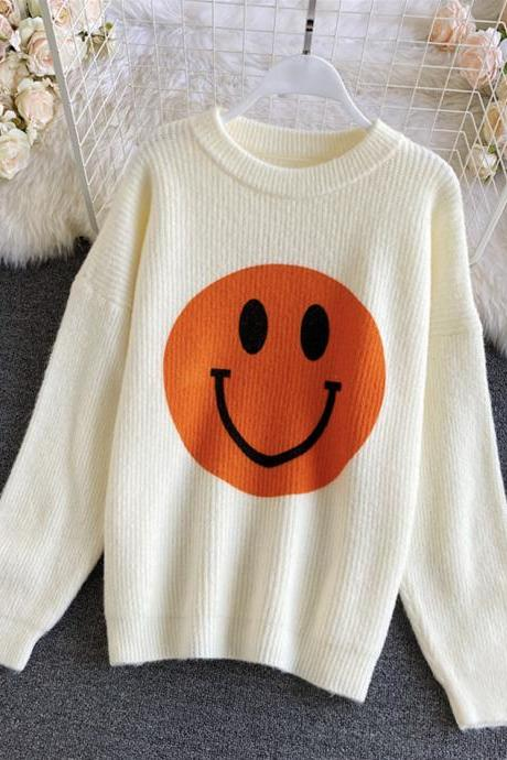 Cute smiley sweater