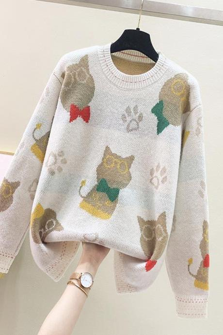 Lovely loose long sleeve sweater