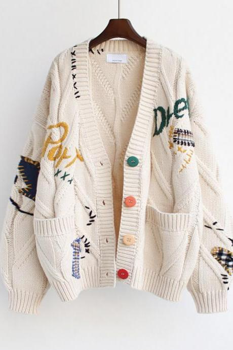 Stylish cardigan sweater