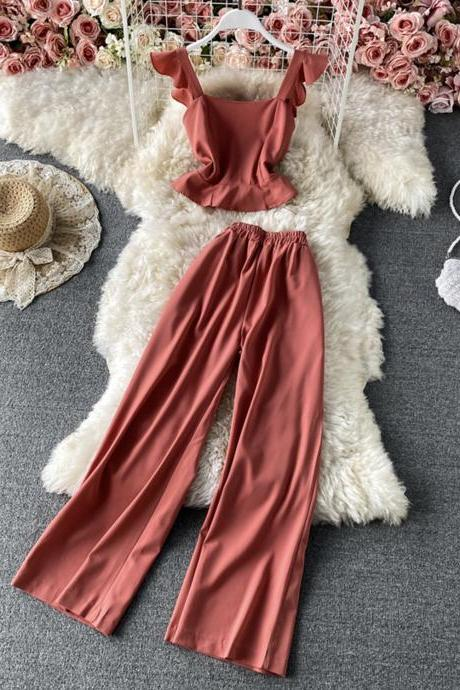 Stylish two-piece sets women's clothing